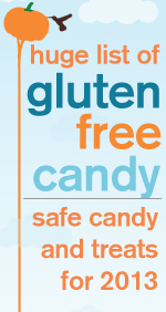 LOVE this list of safe gluten-free Halloween candy! ::||::